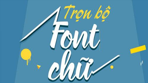 Download Font chữ Việt Hoá