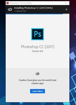 Hướng dẫn Tải và cài đặt phần mềm Photoshop CC 2017 chi tiết nhất