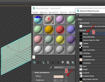 Hướng dẫn đưa hình vào trong 3DS MAX để vẽ theo