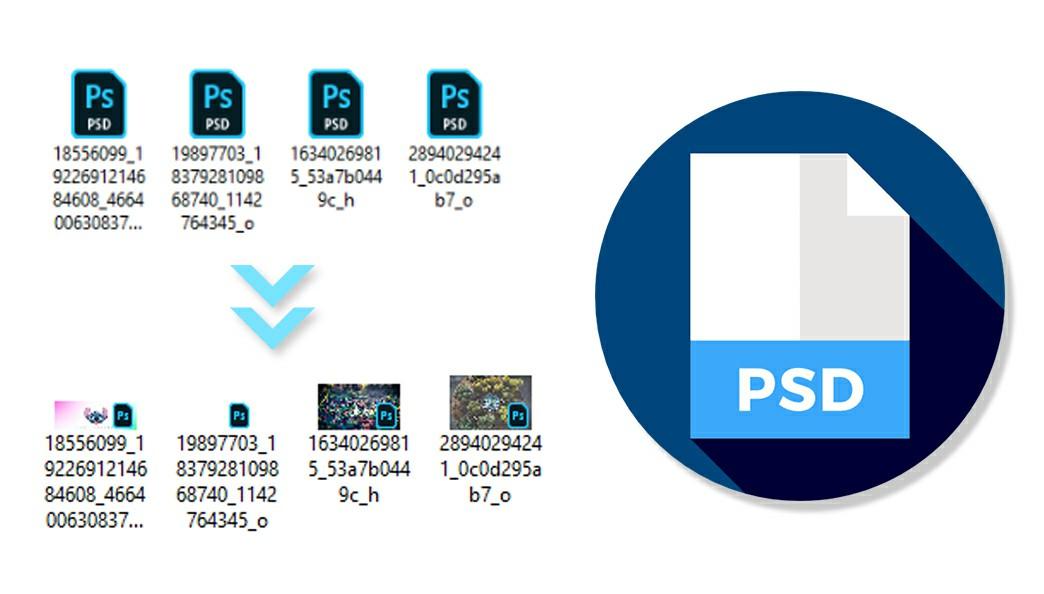 Phần mềm xem trước file photoshop PSD, AI và các file vector