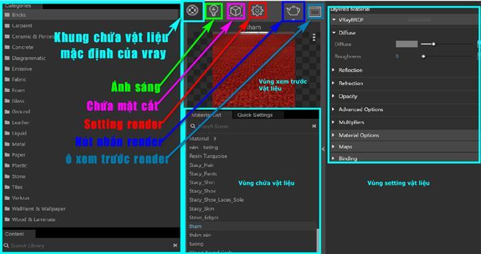 Hướng dẫn sử dụng Vray trong Sketchup 3.6