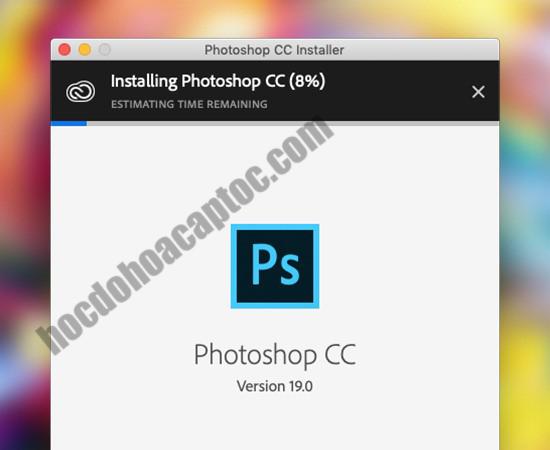 Hướng dẫn cài đặt photoshop CC 2019 cho macbook