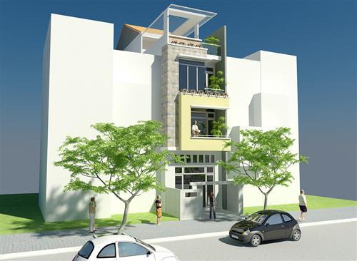 Chia sẻ file thiết kế nhà bằng autocad P2