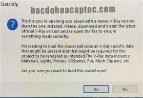 Lỗi khi mở file