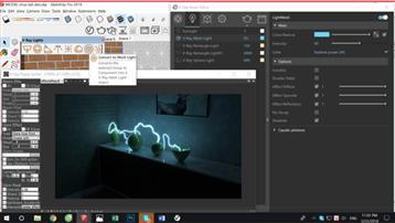 Thông số chi tiết đèn Mesh Lighttrong vray fror sketchup