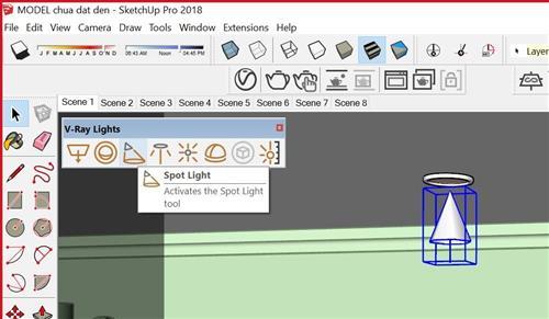 Thông số và cách dùng đèn trong vray (2)