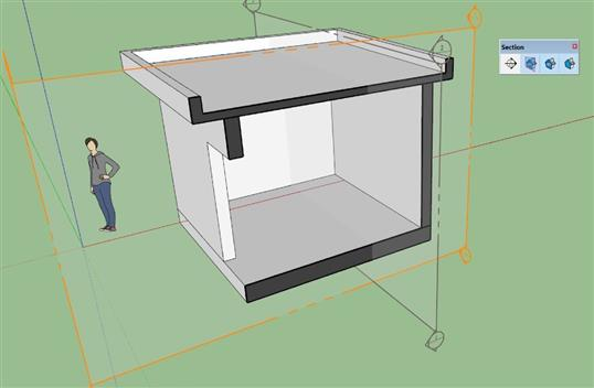 SECTION trong sketchup1