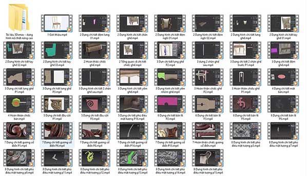 Chia sẻ video khóa học 3ds max nội thất nâng cao