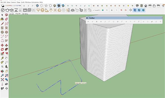 Hướng dẫn sử dụng plugin PLUGIN BZ TOOL BAR trong sketchup