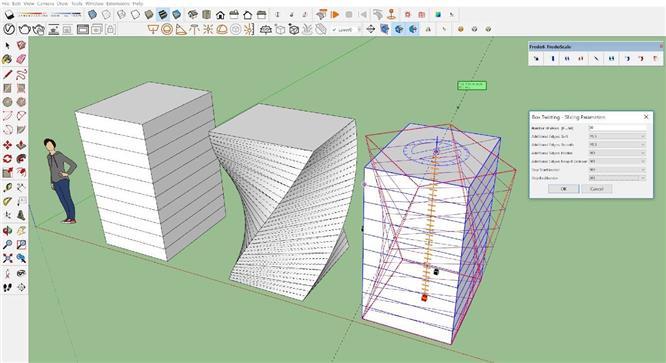 Hướng dẫn sử dụng plugin FREDO6 – FREDOSCALE trong sketchup