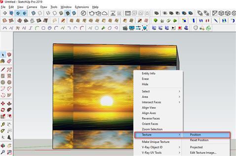Hướng dẫn làm vật liệu trong Sketchup