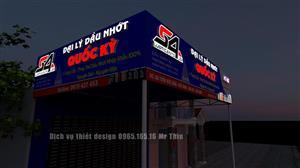 Dịch vụ thiết kế quảng cáo lên phối cảnh 3D